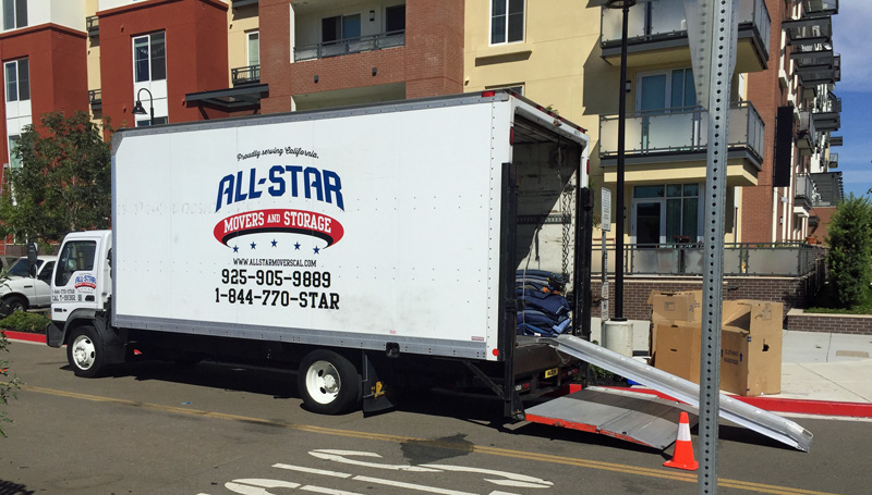 All Star Movers and Storage, Dublin, CA
