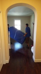 Moving Wrapped Furniture