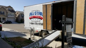 All Star Movers Open Large Moving Truck