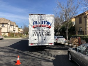 our truck in tracy