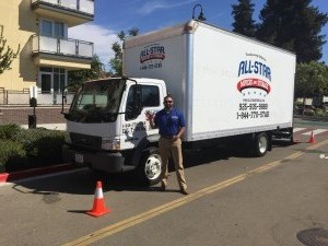 All Star Movers Small Truck