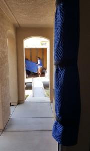 Padded Doorway